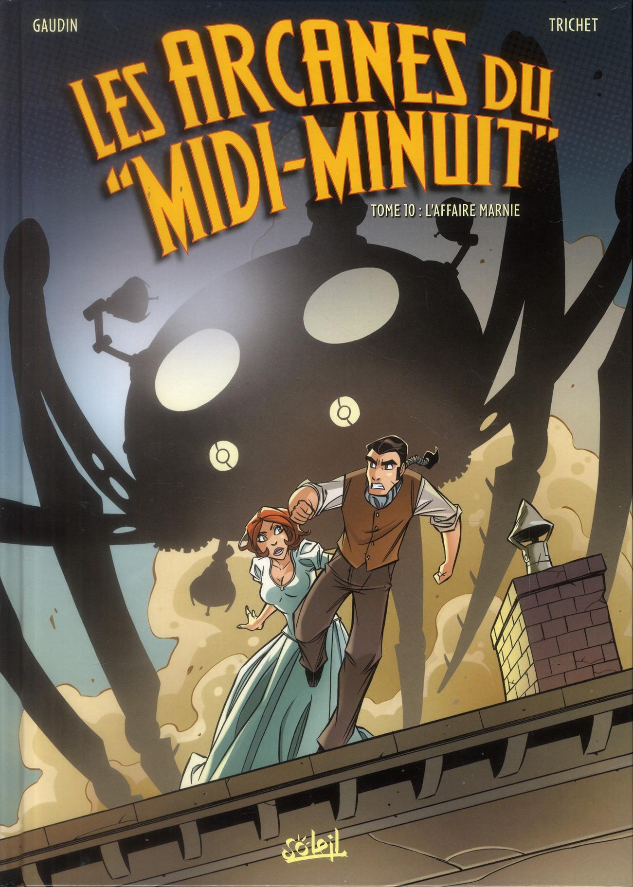 Les Arcanes Du Midi-Minuit T.10 ; L'Affaire Marnie