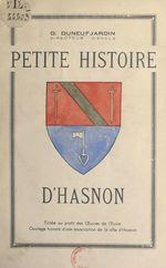 Petite histoire d'Hasnon