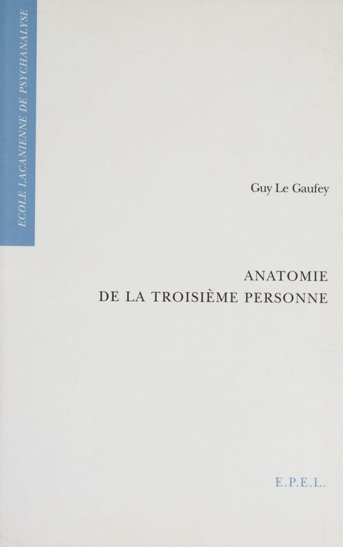 Anatomie de la troisième personne