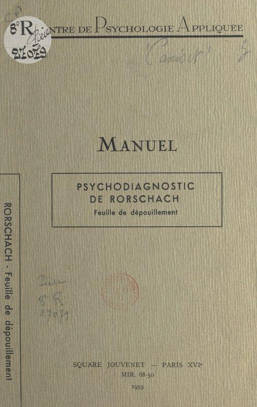 Psychodiagnostic de Rorschach