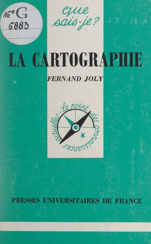 La cartographie  - Paul Angoulvent  - Fernand Joly
