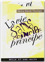 Vente EBooks : La vie sans principe  - Henry David THOREAU
