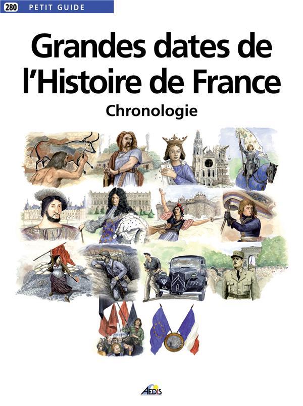 Grandes dates de l'histoire de France, chronologie