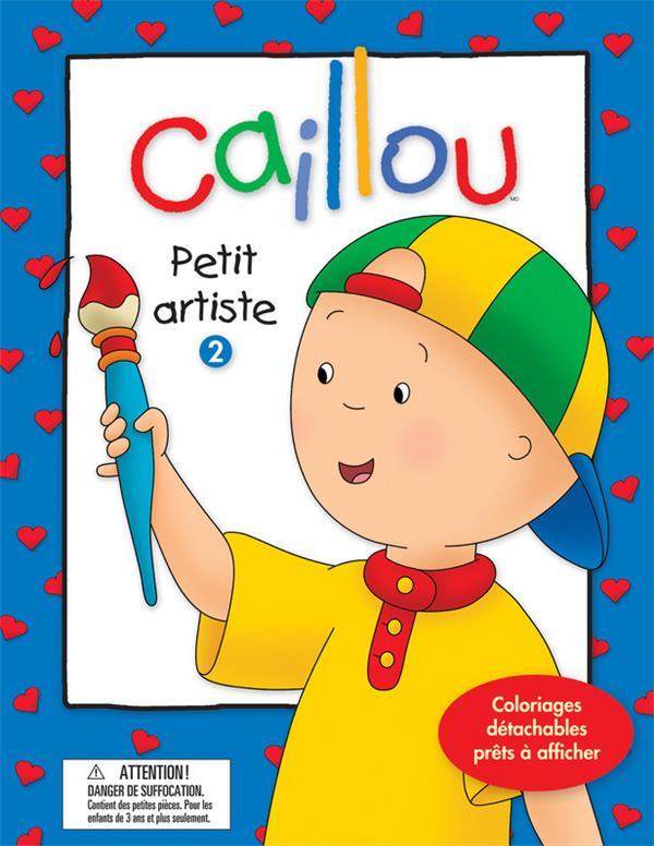 Caillou ; Petit Artiste T.2