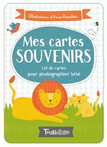 Les cartes souvenirs de bébé