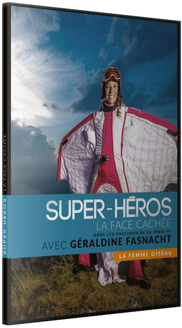 super héros la face cachée : la femme oiseau