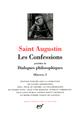 OEUVRES T.1  -  LES CONFESSIONS, DIALOGUES PHILOSOPHIQUES