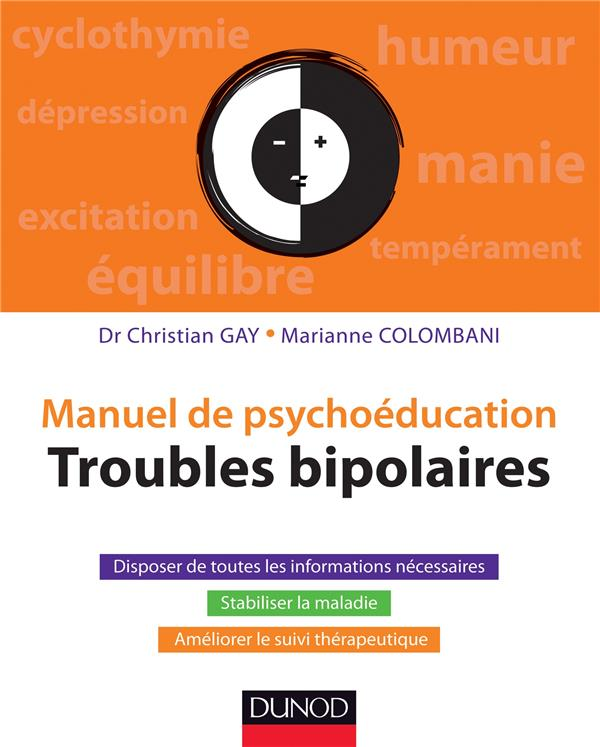 Manuel de psychoéducation ; troubles bipolaires