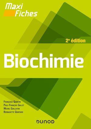 Maxi fiches ; biochimie (2e édition)