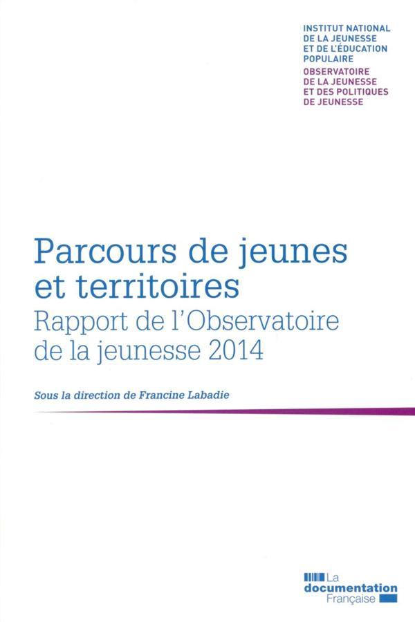 Parcours de jeunes et territoires ; 2ème rapport biennal de l'observatoire de la jeunesse et des politiques de jeunesse