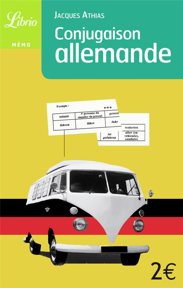 Conjugaison allemande