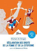 Vente EBooks : Déclaration des droits de la femme et de la citoyenne ; 1re ; programme nouveau bac 2022  - Olympe de Gouges