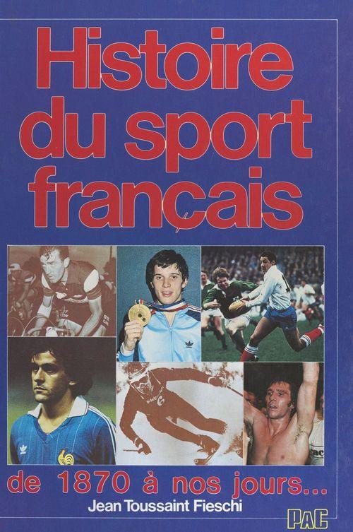 Histoire du sport français