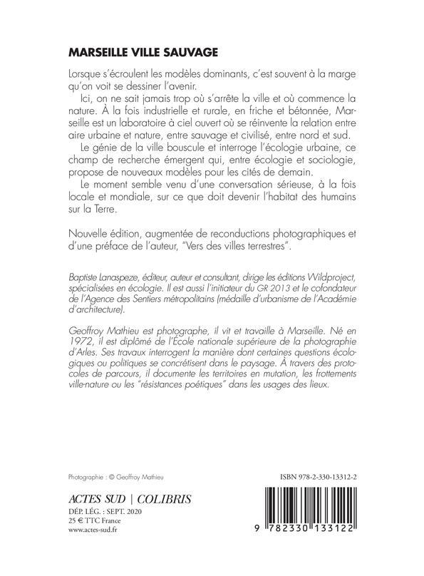 Marseille ville sauvage ; essai d'écologie urbaine