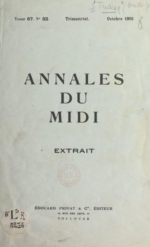 L'élection du président de la République en 1848 dans l'Hérault