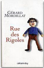 Vente Livre Numérique : Rue des Rigoles  - Gérard Mordillat
