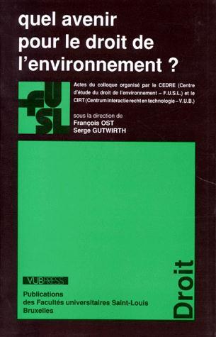 Quel avenir pour le droit a environnement ?