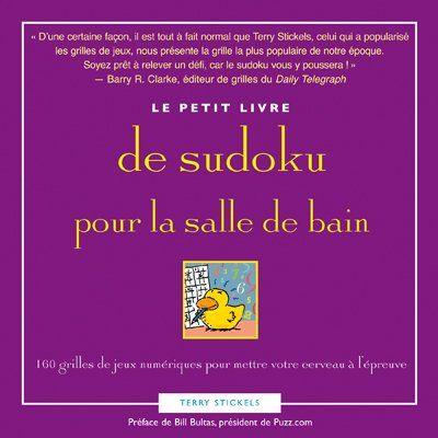Le petit livre pour la salle de bain de sudoku