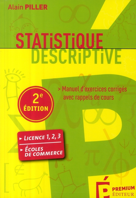 Statistique Descriptive (2eme Edition)