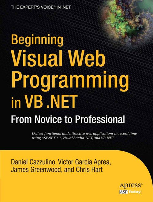Beginning Visual Web Programming in VB .NET