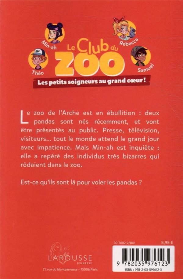 le club du zoo ; les voleurs de pandas