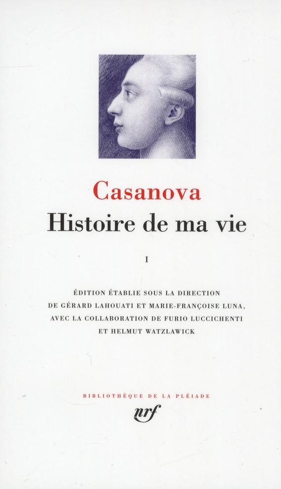 Histoire De Ma Vie T.1