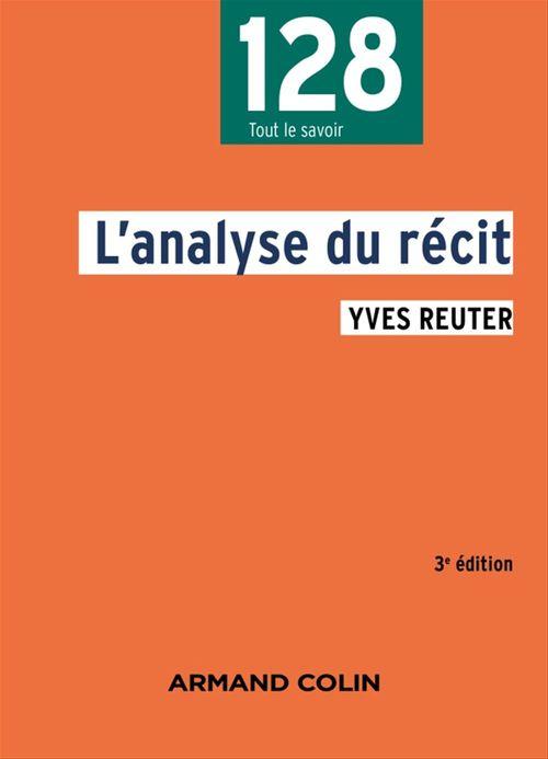 L'analyse du récit (3e édition)