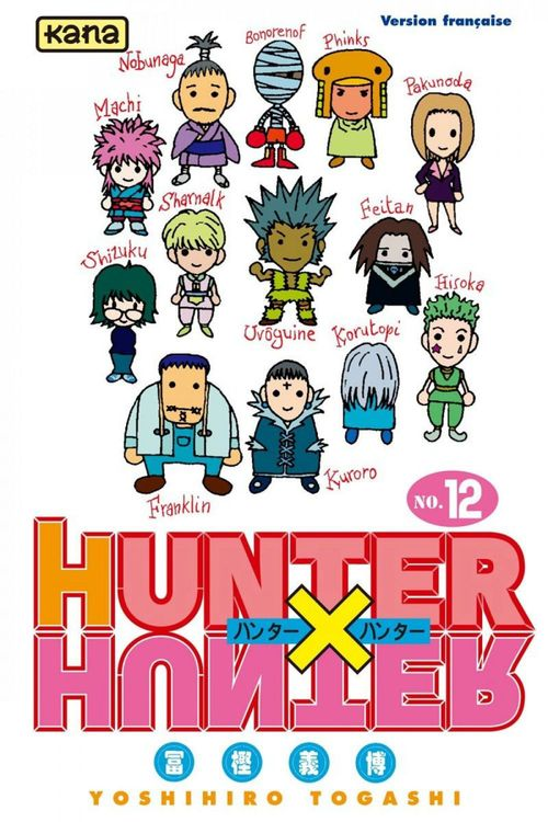 Hunter X hunter t.12