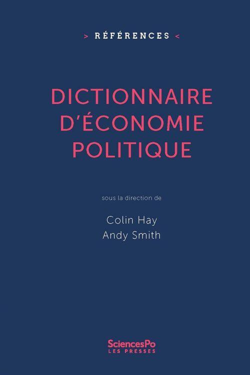 Dictionnaire d'économie politique
