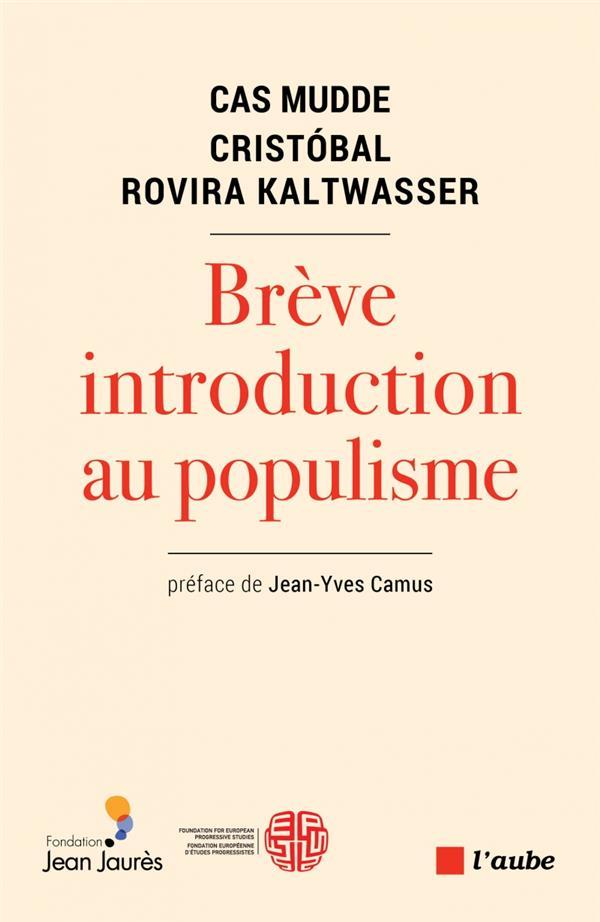 Brève introduction au populisme