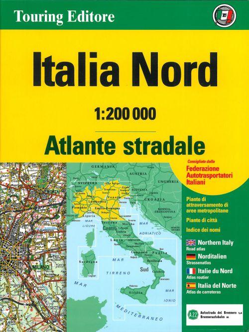 **atlas routier italie nord