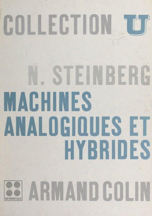 Machines analogiques et hybrides