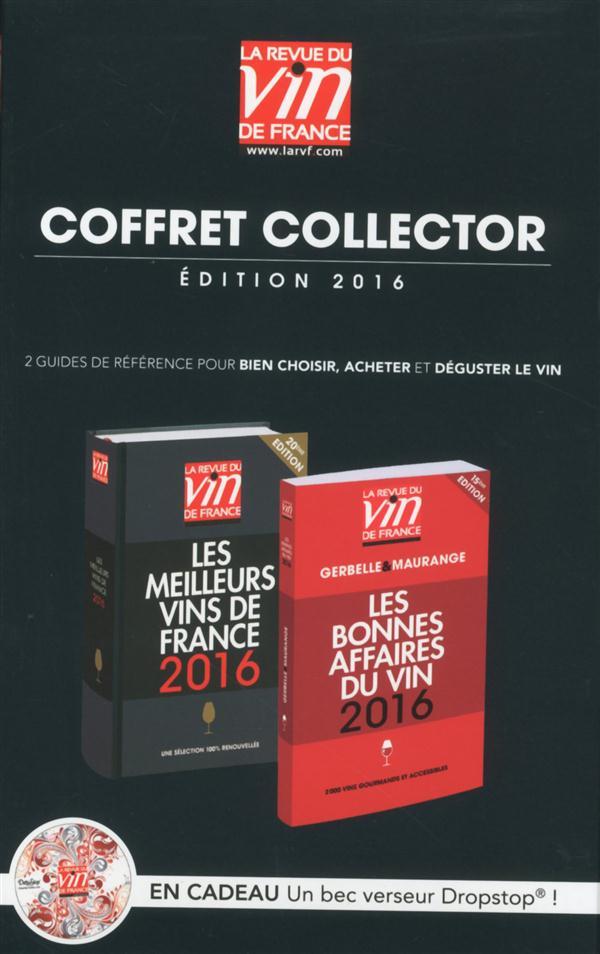 coffret collector guides des vins 2016