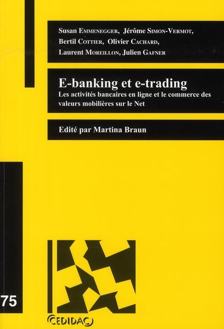 E-Banking Et E-Trading