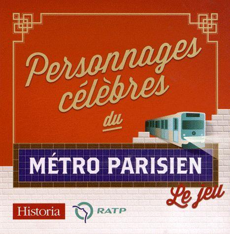 Personnages celebres du metro parisien