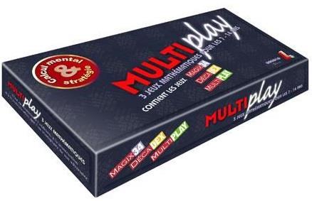 Multiplay ; 3 jeux mathematiques pour les 7-14 ans ; magix34, decadex, multiplay