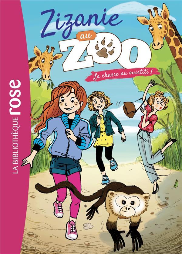 Zizanie au zoo T.4 ; la chasse au ouistiti !
