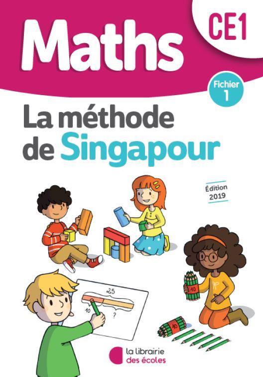 La méthode de Singapour ; mathématiques ; CE1 ; fichier 1