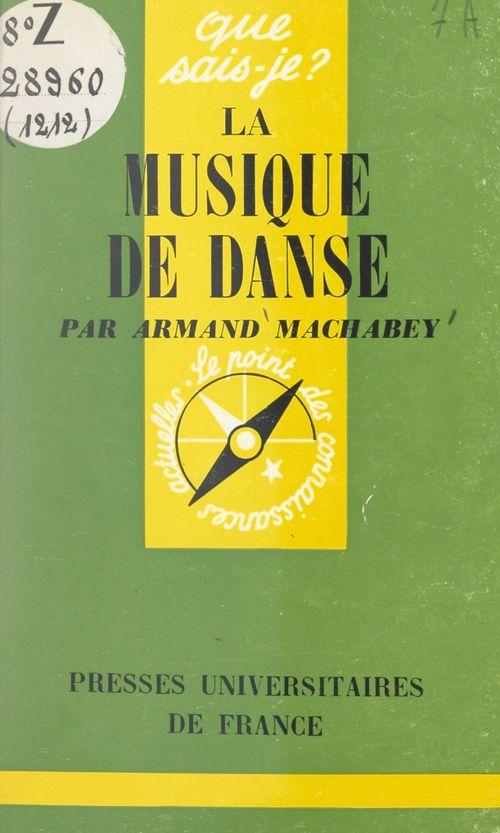 La musique de danse