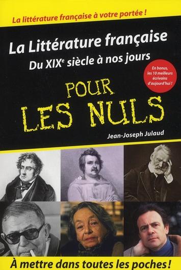 Litterature Francaise Tome 2 Poche Pour Les Nuls