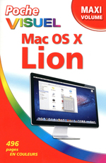 Vente Livre Numérique : Poche Visuel OS X Lion - Maxi volume  - Bob LEVITUS