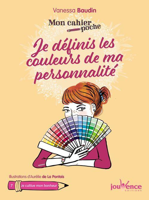 Mon cahier poche ; je définis les couleurs de ma personnalité