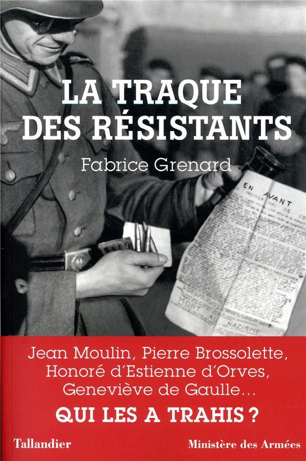 GRENARD FABRICE/AZEM - LA TRAQUE DES RESISTANTS