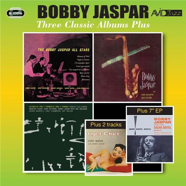 three classic albums plus / Bobby Jaspar