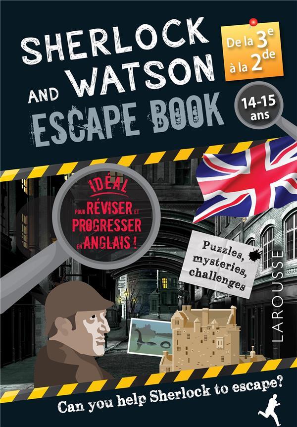 Sherlock and Watson ; escape book ; 3e, 2nde
