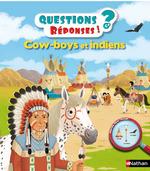 Vente Livre Numérique : Cow-boys et Indiens - Questions/Réponses - doc dès 5 ans  - Virginie Aladjidi