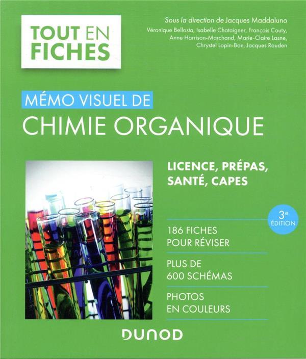 Mémo visuel de chimie organique (3e édition)
