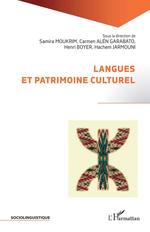 Vente Livre Numérique : Langues et patrimoine culturel  - Henri Boyer - Carmen Alén Garabato - Hachem Jarmouni