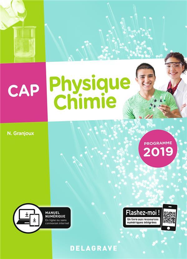 Physique-chimie ; CAP ; pochette de l'élève (édition 2019)