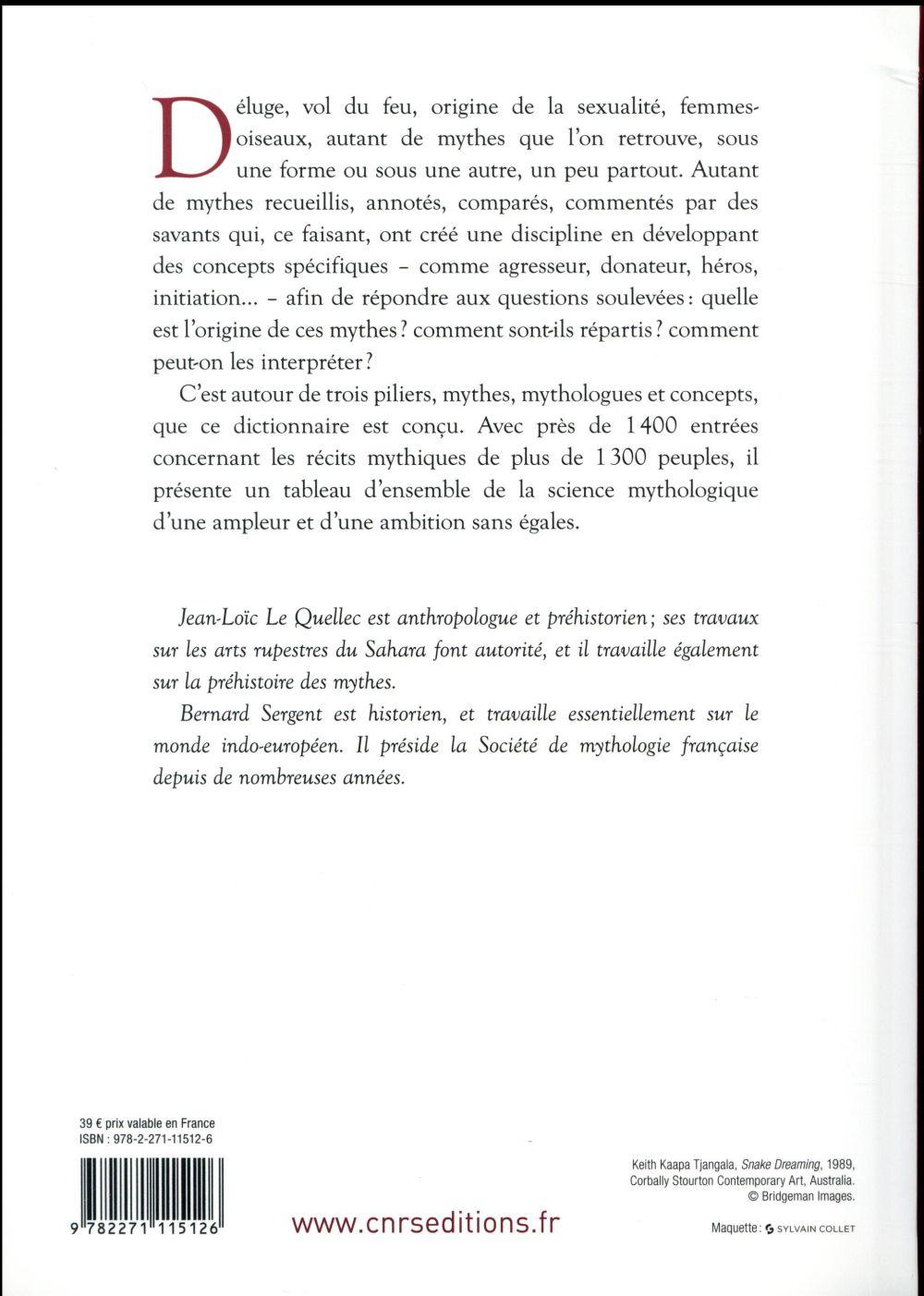 Dictionnaire critique de mythologie